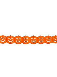 Pumpkin paper garland 4 meters