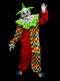 Punker Clown Costume without Mask