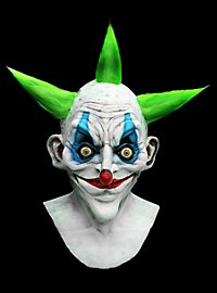 Punkerclown Maske aus Latex
