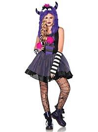 Punkmonster Kostüm für Jugendliche