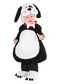 Puppy child costume black-white