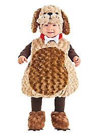 Puppy kid's costume brown