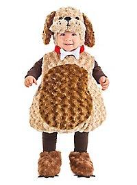 Puppy kid's costume brown