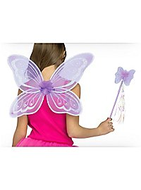 Purple Fairy Accessory Kit for Kids