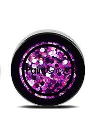 Purple Haze UV Glitzer lose