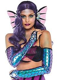 Purple mermaid accessory set
