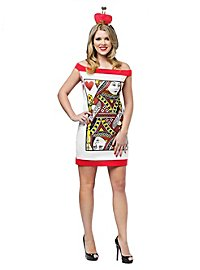 Queen of Hearts Playing Card Costume