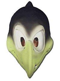 Rabe Maske aus Schaumlatex