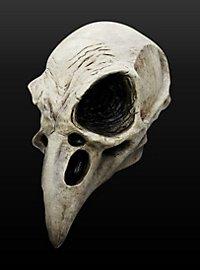Rabenschädel Maske aus Latex
