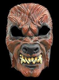 Rabid Werewolf Horror Mask made of latex