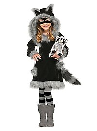 Raccoon Cub Kids Costume
