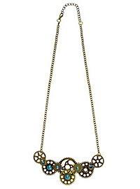Räderwerk Halskette