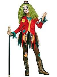 Ragged Horror Clown Child Costume