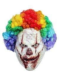 Rainbow Horror Clown Mask