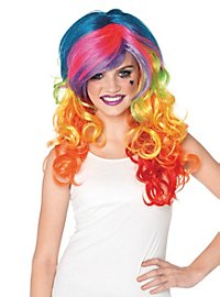 Rainbow Rave Wig