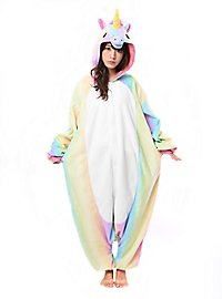 Rainbow Unicorn Kigurumi Costume