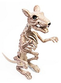 Rat Skeleton Halloween Deco