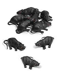 Ratten Set Halloween Deko