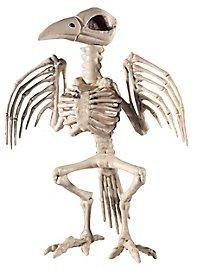 Raven Skeleton Halloween Deco