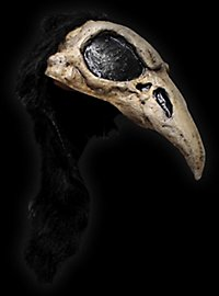Raven Skull Cap