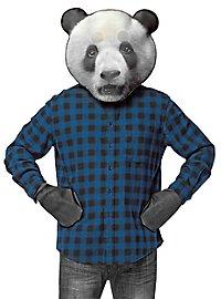 Realistischer Panda Accessoire Set