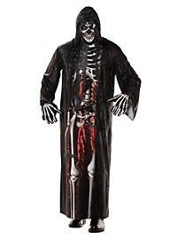 Realistischer Skelett Einteiler Kostüm