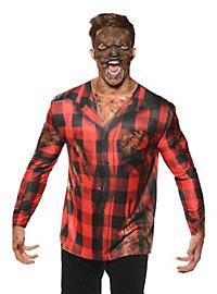 Realistisches Werwolf Shirt