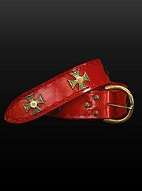 """Red Belt """"Crusader"""""""