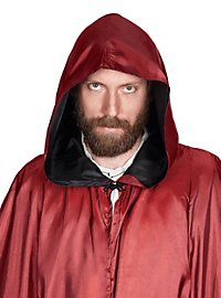 Red Hooded Cape with Cross