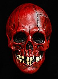 Red Skull Latex Full Mask