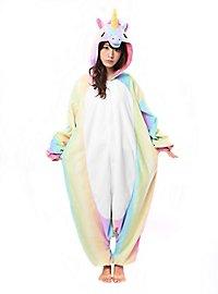 Regenbogen Einhorn Kigurumi Kostüm
