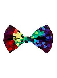 Regenbogen Pixel Fliege