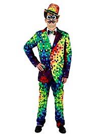 Regenbogen Pixel Kostüm