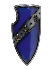 Gralsritterschild blau Polsterwaffe