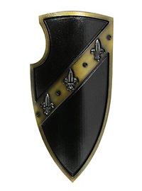 Gralsritterschild schwarz Medieval 2nd Edition