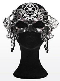 Reine de la nuit Masque en cuir