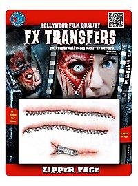 Reißverschluss 3D FX Transfers