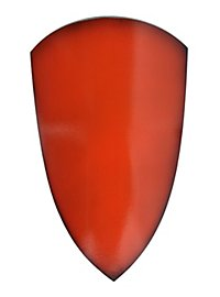 Reiterschild rot Polsterwaffe