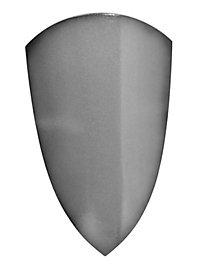 Reiterschild silber Polsterwaffe