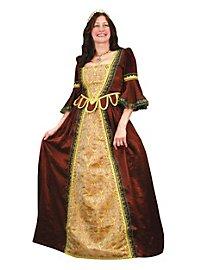 Renaissance Kleid rot