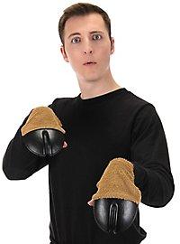 Rentier Hufe Handschuhe