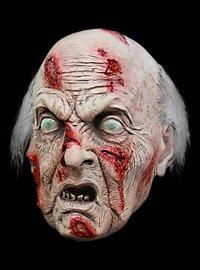 Rentner Zombie Maske aus Latex