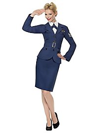 Retro Air Force Pilot Costume for Women