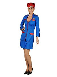 Retro Stewardess Kostüm