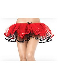 Reversible Tutu red-black