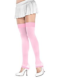 Ribbed Overknee Cuffs pink
