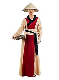 Rice farmer costume