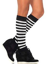 Ringel stockings black-white