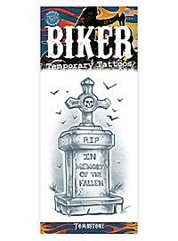 R.I.P. Klebe-Tattoo