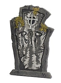 RIP Tombstone with Moss Halloween Decoration